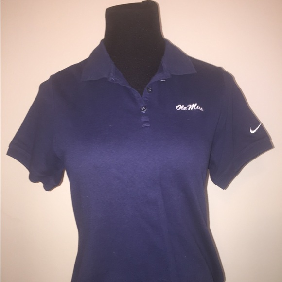 69dc3a7e Nike Tops   Dri Fit Ole Miss Rebels Polo Shirt Sz Small   Poshmark